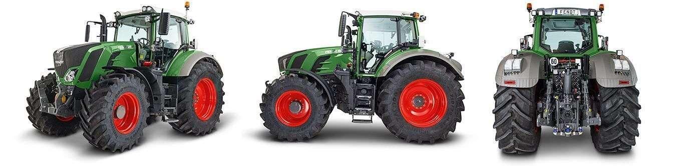 Ciągnik rolniczy Fendt 800 Vario