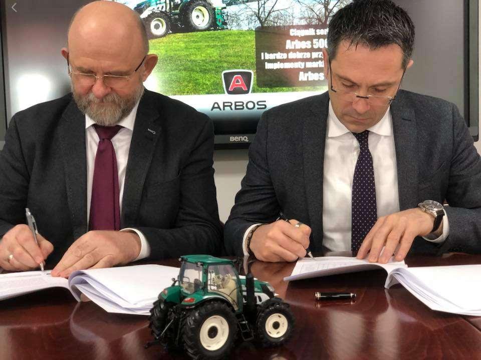 Prezes spolka Korbanek i dyrektor sprzedazy marki Arbos