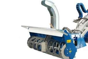 To urządzenie jest idealnym narzędziem w okresie zimowym do rozprowadzania produktów do kontroli lodu na parkingach i obszarach dla pieszych.  Wersja holowana w połączeniu z pługiem śnieżnym lub turbiną śnieżną umożliwia jednoczesne odśnieżanie i rozprowadzanie produktów przeciwoblodzeniowych.  Może być również stosowany w cieplejszych miesiącach do rozsiewu nasion i nawozu. Wzór wyrzutu można łatwo ustawić za pomocą profesjonalnego ogranicznika rozsiewu regulowanego dźwignią.