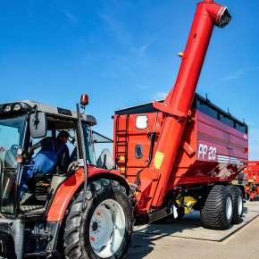 Przyczepa przeładowcza PP o ładowności 20 ton
