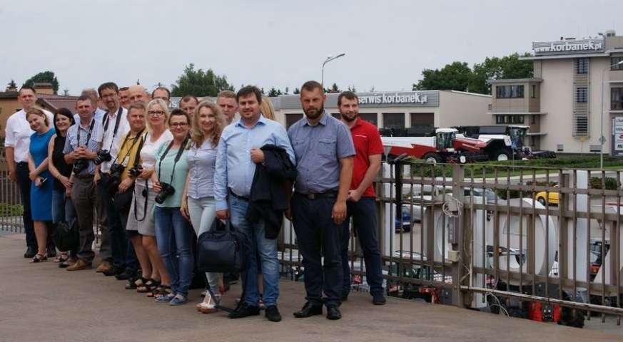 Konferencja dziennikarzy rozpoczęcie współpracy z Rostselmash korbanek.pl
