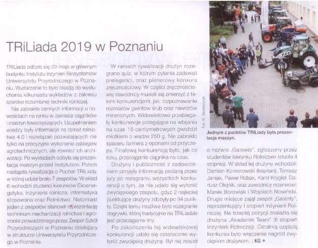 Opis wydarzenia TRiLiada 2019 Poznań