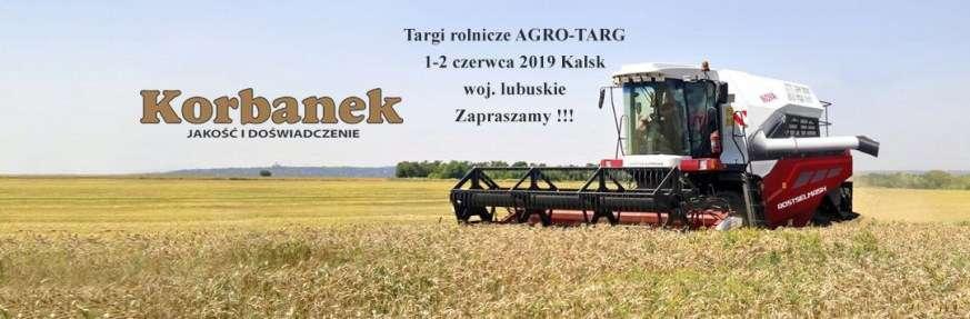 Targi Agro Targ Kalsk baner korbanek