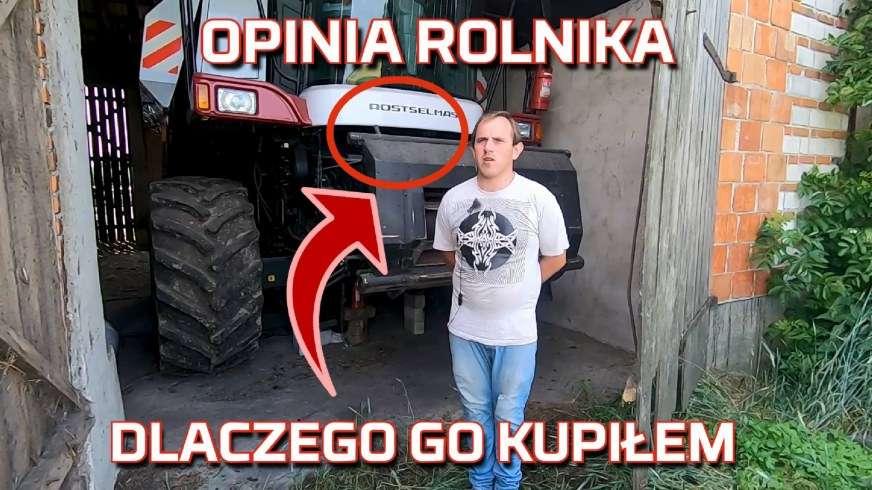 Tapeta Rolnika który kupił Rostselmash Vector 425 a rozważał Claas i New Holland kombajn zbożowy nowy nabytek i jego opinia od Korbanek