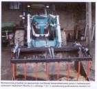 ciągnik Arbos z ładowaczem