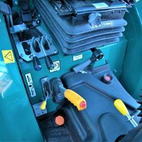 Sterowanie funkcjami ciągnika sadowniczego arbos 3050