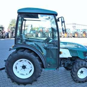 Niski ciągnik sadowniczy arbos 3050 idealny do ogrodów