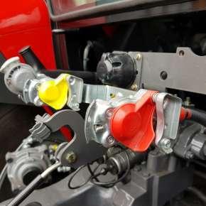 Massey Ferguson 5700 SL instalacja pneumatyczna jedno oraz dwuobwodowa