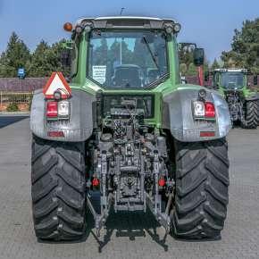 Hydraulika i tylny TUZ w Fendt 900 Vario S4