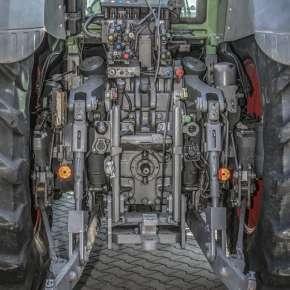 Hydraulika, tylny TUZ oraz zaczepy w Fendt 900 Vario S4