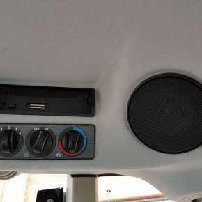 Massey Ferguson 5700 SL nawiew oraz głośnik