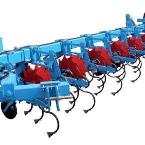 Pielnik 12-rzędowy do kukurydzy z wózkiem