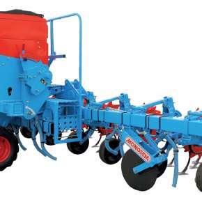 Pielnik 8-rzędowy Monosem Multicrop z podsiewaczem 1030 litrów