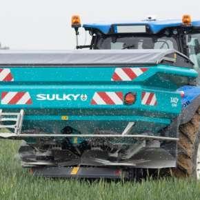 Rozsiewacz nawozów Sulky X40+ 3200 litrów