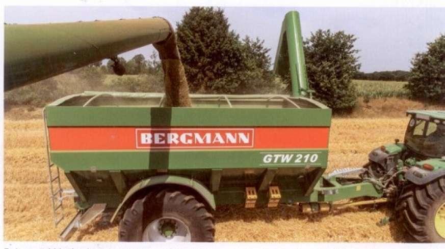 Przyczepa marki Bergmann