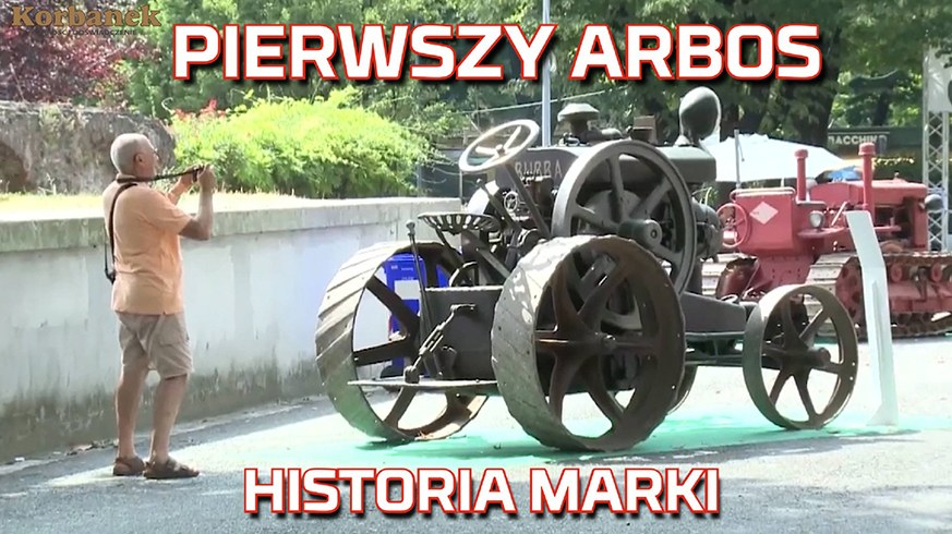 Tapeta z pierwszy Traktor Arbos produkowany we Włoszech i bogata historia marki od Korbanek nowy nabytek, ciągnik, test, opinia www.korbanek.pl