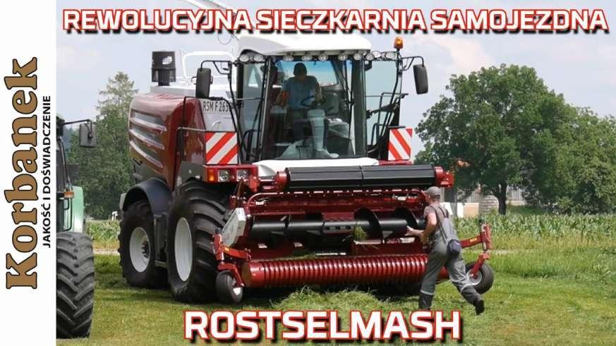 Sieczkarnia Samojezdna RSM F 2650 Rostselmash w Niemczech od Korbanek