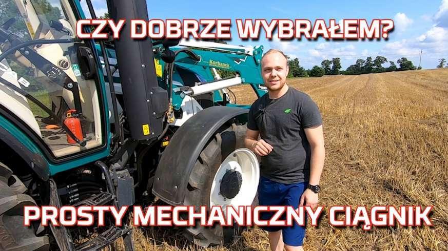 Tapeta ciągnika Arbos na gospodarstwie rolnym   Traktor u rolnika   Test opinia nowy nabytek