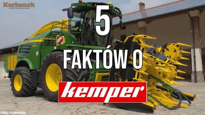 tapeta z 5 faktów o Kemper - Adapter do zbioru kukurydzy w żniwa przy pomocy Claas Jaguar sieczkarnia John Deere, New Holland, Krone Fendt Katana w www.Korbanek.pl