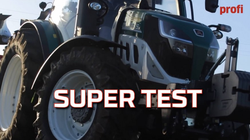 Tapeta super testu ciągnika Arbos 5130 Global od Korbanek - opinia Profi od Top Agrar www.korbanek.pl