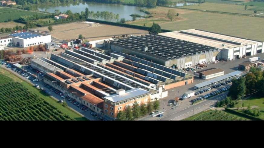 Tapeta fabryki goldoni we włoszech