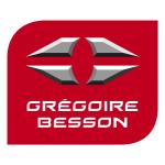Logo kwadratowe Gregoire Besonn producent pługów i agreagtów