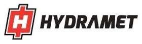 Obrazek przedstawiający logo marki Hydramet, produkujacej ładowacze czołowe, sprzedawane przez korbanek.pl.