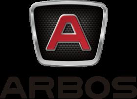 Logo Arbos napisane słownie i ze znakiem graficznym
