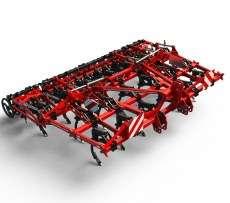 Studyjne zdjęcie maszyny rolniczej do uprawy przedsiewnej marki Gregoire Besson tym CROSSLAND