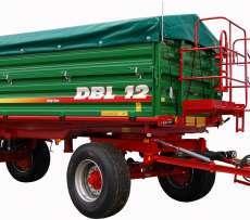 Zdjecie przedstawiające przyczepę Metaltech DBL 12, dystrybuowanej przez firmę Korbanek.