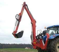 Zdjęcie przedstawiające ładowacz Hydramet, z serii tej występują modele H-500 i H-800, sprzedawane przez korbanek.pl.