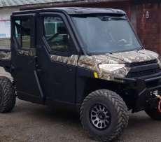 Ciągnik rolniczy quad Polaris seria Ranger Crew 1000-6 EPS atv