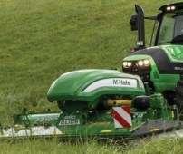 Kosiarka przedni McHale F3100 podczas pracy na korbanek.pl