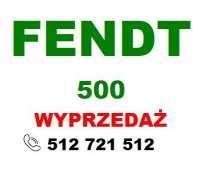 Fendt model 500 ze skrzynią Vario
