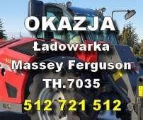 okazja reklama Massey Ferguson - Ładowarki - MF TH.7035