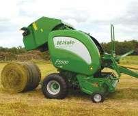 Prasa stałokomorowa walcowa McHale F5500 oferta korbanek.pl