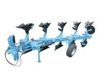 Pług obracalny ORKAN firmy Mandam  zdjęcie maszyny na białym tle