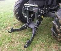 Czarny przedni tuz podnośnik hydrauliczny trzypunktowy firmy MX typ R korbanek.pl