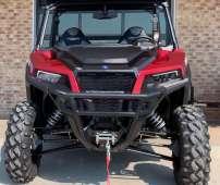 General XP 1000 Polaris EPS czerwony quad wspomaganie kierownicy kontrola zjazdu ADC kolor biały pasy bezpieczeństwa felgi aluminiowe klatka ochronna wyciagarka 2500 LB linka stalowa
