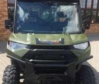 Polaris Ranger Diesel kohlera silnik 1000 pasy bezpieczeństwa pojazd na trzy osoby pasy bezpieczeństwa klasyczna kierownica przedni zderzak metalowy paka załadunkowa inaczej przestrzeń załadunkowa napęd 2x4 4x4 felgi stalowe korbanek.pl klatka bezpieczeństwa