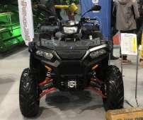 Sportsman 1000 XP Polaris napęd 2x4 4x4 kontrola zjazdu ADC kolor czarny limited wspomaganie kierownicy EPS wyciągarka 2500 LB linka stalowa felgi aluminiowe Korbanek.pl