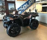 Polaris Sportsman XP 1000 LE FALCON kolor miedziany wyciągarka 2500 LB linka stalowa napęd 4x4 2x4 ADC kontrola zjazdu EPS wspomaganie kierownicy opony Vipr Maxxis felgi aluminiowe