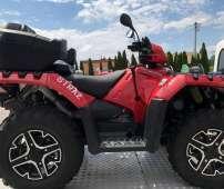 Sportsman XP 1000 STRAŻ Polaris kolor czerwony felgi aluminiowe z bedlock wyciagarka 2500 LB linka stalowa napęd 2x4 4x4 EPS wspomaganie kierownicy osłony rak ADC kontrola zjazdu dodatkowe światło w kierownicy korbanek.pl