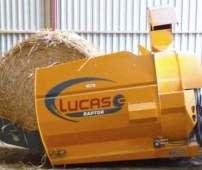 Scielarka kompaktowa firmy Lucas model Raptor zdjęcie na tle blaszanej ściany