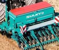 Siewnik zbożowy mechaniczny Sulky Tramline CE w zestawie uprawowo-siewnym