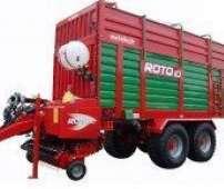 Zdjęcie przedstawiające przyczepę samozbierająca ROTO z firmy Metaltech, dystrybowana przez korbanek.pl.