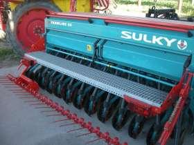 Używany Agregat uprawowo siewny Sulky Burel 3,0 m rok produkcji 2009