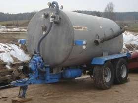 Używany Wóz asenizacyjny Pomot Chojna 6700 L 2004 r. korbaenk.pl