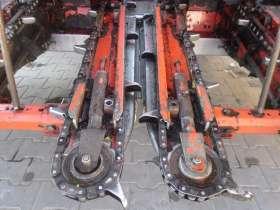 używana przystawka do kukurydzy Olimac Drago 2005 kolor czerwony