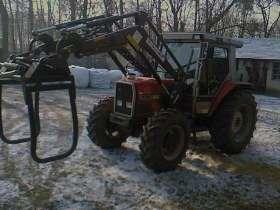 Ciągnik rolniczy Massey Ferguson 3060 z ładowaczem i chwytakiem korbanek używane maszyny rolnicze